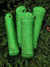 Nr.16 Grünes Polypropylenseil 8 mm, 30m,Tauwerk,Ankerleine,Festmacherleine,Rope