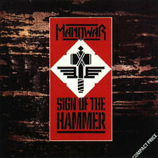 MANOWAR-SIGH OF THE HAMMER CD 1984-MAIDEN-WARLOCK-ACCEPT-WARCRY