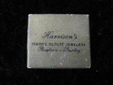 Harrison's Ring Box Pocatello Burley Idaho ID IDA Vintage