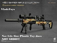 Easy & Simple 1/6  NSW sniper rifle Mk14Mod0 desert camo 06010 D *Not Life Size*