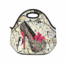Shoes Insulated Tote Lunch Bag Picnic Bag Cooler Lunch Box Handbag Fashion