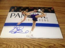 Gracie Gold Autographjed 8x10 photo USA Figure Skating Sochi Olympics PROOF
