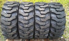 4 NEW Galaxy Muddy Buddy 10X16.5 DEEP TREAD Skid Steer Tires 10-16.5 heavy duty