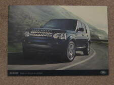 2011 / 2012   LAND ROVER DISCOVERY  COMPARISON BROCHURE  INC PRICES GS, XS, HSE