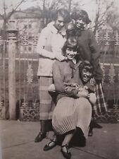 ANTIQUE AFRICAN AMERICAN FLAPPER GIRLS IN or KY RANCE ROMLETT MEN FINE PHOTOS