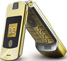 Motorola Moto Razr V3i Gold (Unlocked) Mobile Phone Dolce & Gabbana Version