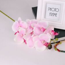 Pink Style Butterfly Orchid Silk Flower Phalaenopsis Bouquet Home Wedding Decor