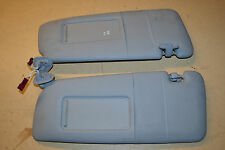 BMW 3 SERIES E46 320i SE SALOON 01-04' PAIR OF SUNVISORS WITH MIRRORS IN GREY