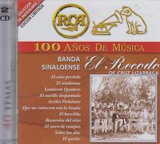 CD - Banda Sinaloense NEW El Recodo De Cruz Lizarraga 2 CD's FAST SHIPPING !