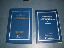 International Criminal Law by Ellen S. Podgor and Edward M. Wise-STEAL OF DEAL!