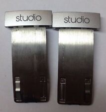 Beats By Dre Studio 2.0 2 Extension Metal Hinge Part Left Right Side - Silver