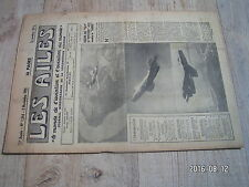 "1µ?  Revue Les Ailes ""Monde Aviation"" n°1344 Mystere 452 Groupe Tunisie"