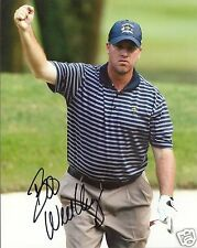 BOO WEEKLEY PGA STAR SIGNED 8X10 PHOTO W/COA