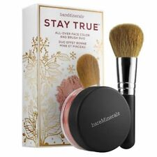 BAREMINERALS Stay True All Over Face Duo - Face Color & Brush Bare Minerals NEW
