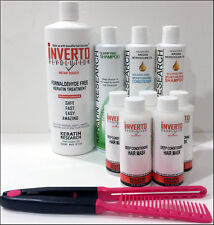 Keratin Hair Treatment Treat  Wash N' Go Inverto Instant Results Jumbo Kit  USA