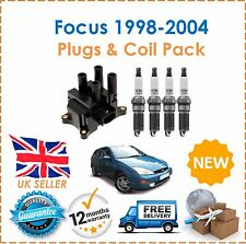 Ford Focus 1.4 1.6 1.8 1998-2004 Ignition Spark Plugs & Ignition Coil Pack NEW