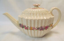Spode Copeland England ROSE BRIAR Wicker Tea Pot with Lid
