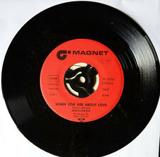 """MATCHBOX When You Ask About Love You've Made A Fool Of Me 7"""" Single vinyl NEW"""