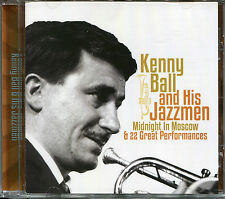 KENNY BALL AND HIS JAZZMEN CD MIDNIGHT IN MOSCOW & 22 GREAT PERFORMANCES