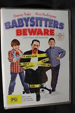 BABYSITTERS BEWARE *Danny Trejo, Rico Rodriguez  - new Region 4 dvd movie