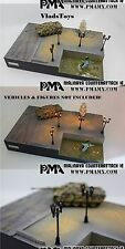 PMA 1:72 Malinava Counter Attack Diorama set E water side street scene  P0211