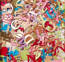 100+ PCS Alphabet Letter Scrapbooking Card Making Embellishments Craft Clearout