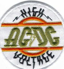 AC/DC HIGH VOLTAGE EMBROIDERED PATCH !
