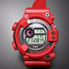 G-SHOCK DW-8200F-4JF  RARE COLOUR RED 2000  FROGMAN