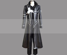 Custom Made Sword Art Online SAO Kirito Cosplay Costume Trench Coat Outfit Buy