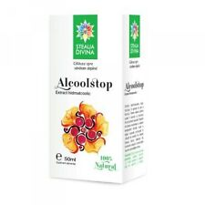 Alcohol Stop Tincture for Alcohol Dependence, Liver and Body Detoxification