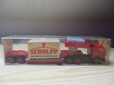 """Wiking, 29 504, MB Schwerlastzug """"SCHOLPP""""      1:87"""