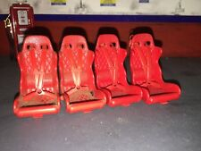 1:18 Racing Bucket Seat For Modifying Cars Or Your Garage Diorama 1/18