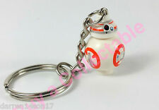 Star Wars BB8 KEYRING KEYCHAIN /BAG CHARM Custom Minifigure UK Seller