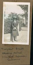 'Margaret Smith' outside 2 Hartfield Mansions, Eastbourne  qq1219