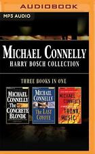 Michael Connelly HARRY BOSCH COLLECTION abridged,CD FREE SHIPPING