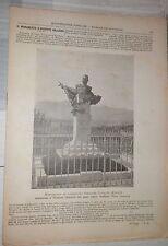 L ILLUSTRAZIONE POPOLARE N 33 1898 Monumento a Galliano a Vicoforte Bismarck