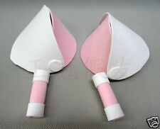 CHOBITS COSPLAY ORECCHIE EARS PARRUCCA WIG CLAMP CHII FREYA ANIME MANGA COSTUME