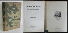 Vollmar - Um Gottes Willen und andere Erzählungen 1911 - Literatur - xz