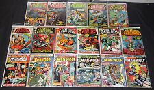 Vintage Marvel Bronze Age Creatures On The Loose 17pc Mid-High Grade Comic Lot