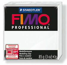 White 85g Block FIMO Professional Polymer Clay For Moulding, Jewellery Craft Art