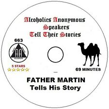 Alcoholics Anonymous AA 12 Step Speaker CD - Father Martin - His Story
