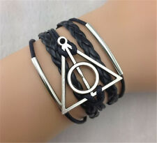 Harry Potter Restoring Ancient Ways Elements More Wax Line Fashion Bracelet