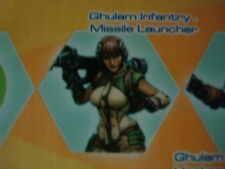 Infinity Ghulam Infantry Missile Launcher Haqqislam metal new