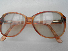 Vintage Classic DEMI-AMBER 54[]18 eyeglasses frame CLIVE BY LBO OF LONDON