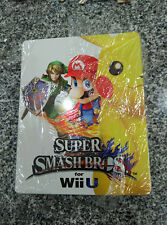 Super Smash Bros. Wii U Steelbook G2 CASE (NO GAME) | Nintendo | New, minor wear