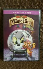 Dvd Tom and Jerry in The Magic Ring full length movie full screen edition