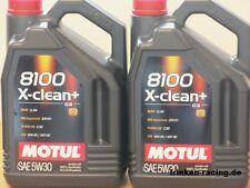 11,18€/l Motul 8100 X-clean + 5W-30 C3  2 x 5 Ltr  VW 50400 50700 MB 229.51