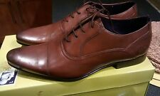BNIB Ted Baker Men's Rogerr 2 Smart vintage shoes brown leather UK7 EU41 £130