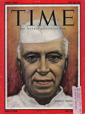 TIME MAGAZINE JULY 30 1956 NEHRU INDIA MATT MCKEON ICBM FLOYD BOND AT&T