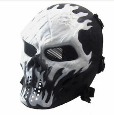 Ghost Tactical Military Motorcycle Scary Paintball Airsoft Skull Full Face Masks